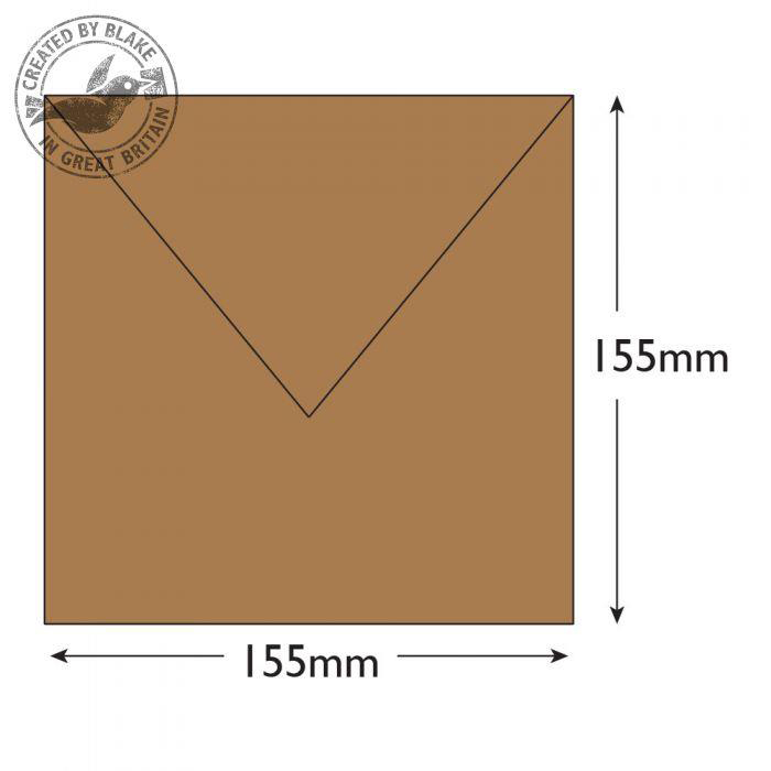Purely Everyday Square Banker Invitation Gum Manilla 155x155 90gsm Ref 4255 Pk500 10 Day Leadtime