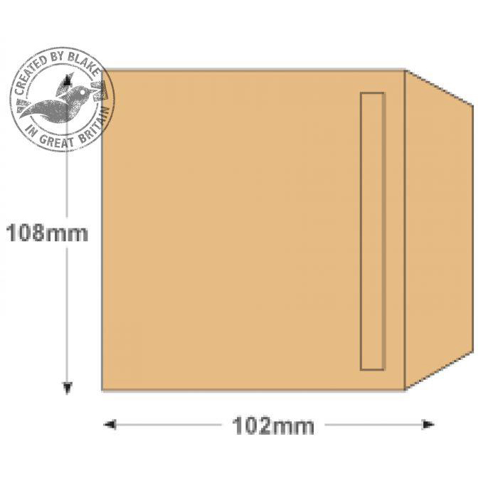 Purely Everyday Wage Unprinted Manilla 80gsm 108x102 SS Ref 13922 Pk1000 *10 Day Leadtime*