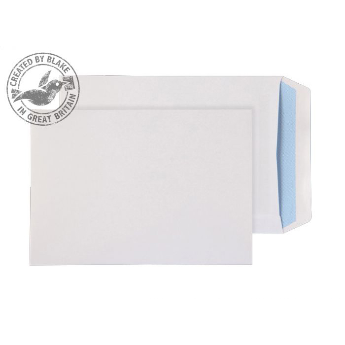 Purely Everyday Pocket Self Seal White 100gsm C5+ 240x165mm Ref 3331 [Pack 500] 10 Day Leadtime