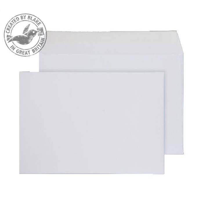 Purely Everyday Wallet P&S White 100gsm C5- 155x220mm Ref 2900PS [Pack 500] 10 Day Leadtime