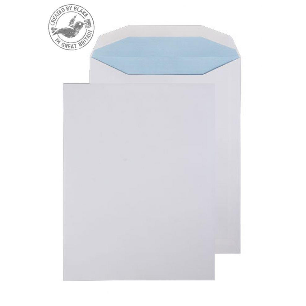 Polythene Envelopes Purely Everyday Mailer Gummed White 100gsm 310x238mm Ref SI-80 [Pack 250] *10 Day Leadtime*