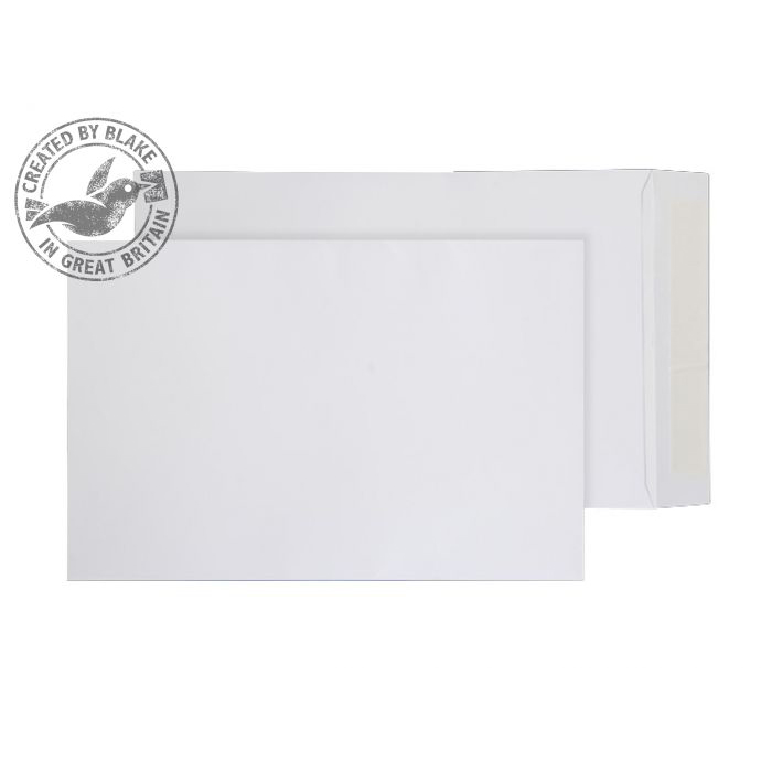 Purely Everyday White Peel and Seal Pocket 280x185mm Ref 1086 [Pack 250] 10 Day Leadtime