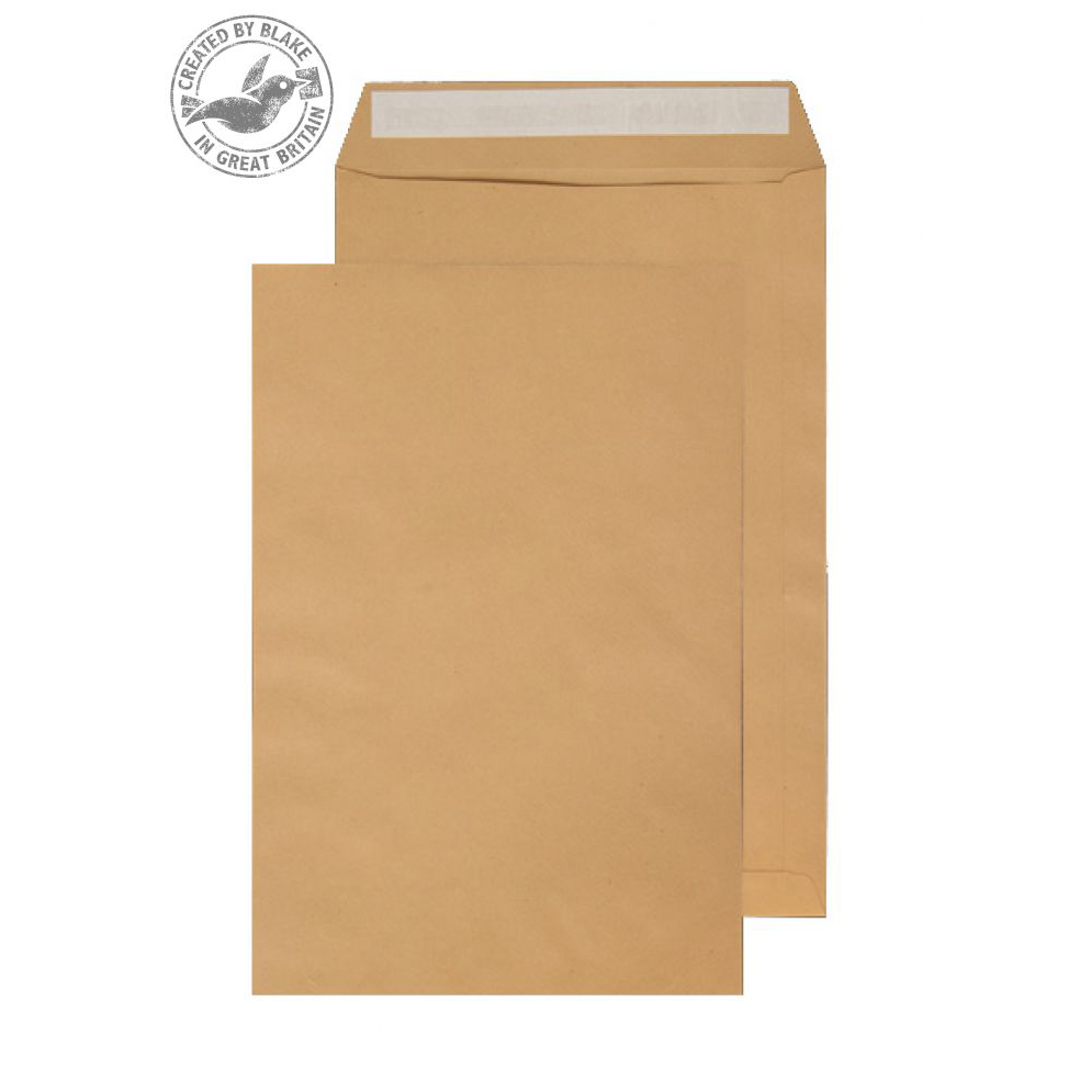 Purely Everyday Pocket P&S Manilla 115gsm C3 450x324mm Ref 23872 [Pack 125] 10 Day Leadtime