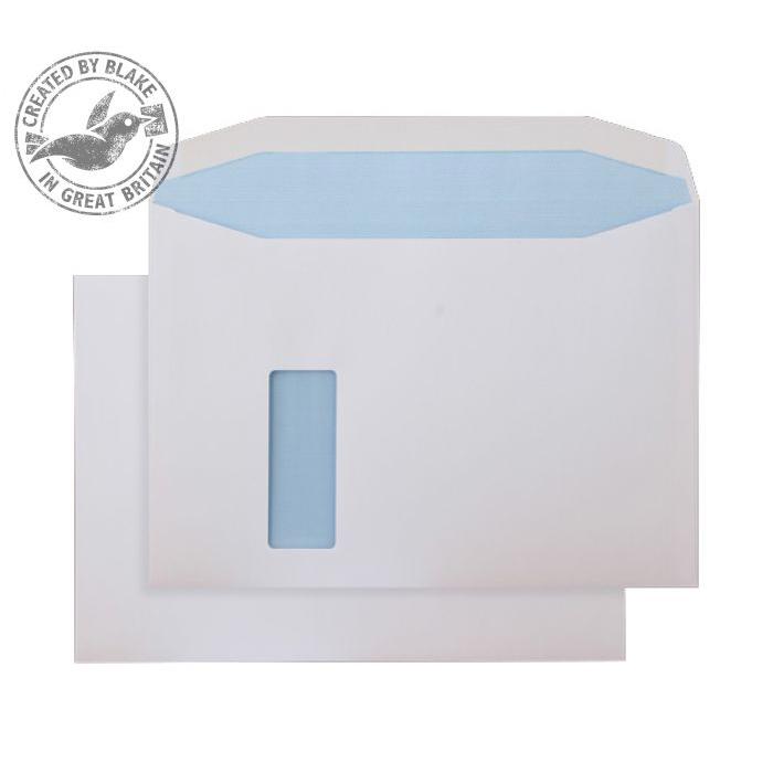 Purely Everyday Mailer Gum Reverse Wndw White 120gsm C4 229x324 Ref 8710REV Pk250 10 Day Leadtime
