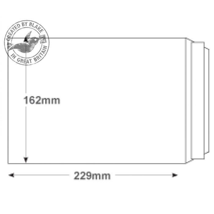 Purely Environmental Pocket Self Seal White 100gsm C5 229x162mm Ref RD7893 Pk 500 10 Day Leadtime