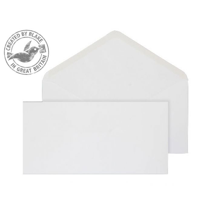 Purely Everyday Banker Invitation Gum White 90gsm DL 110x220 Ref ENV2169 Pk1000 10 Day Leadtime