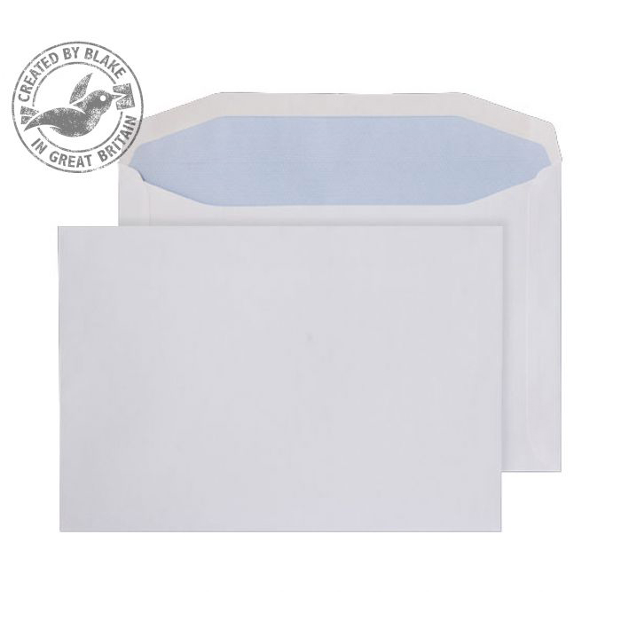 Purely Everyday Mailer Gummed White 90gsm 178x254mm Ref 5507 [Pack 500] 10 Day Leadtime