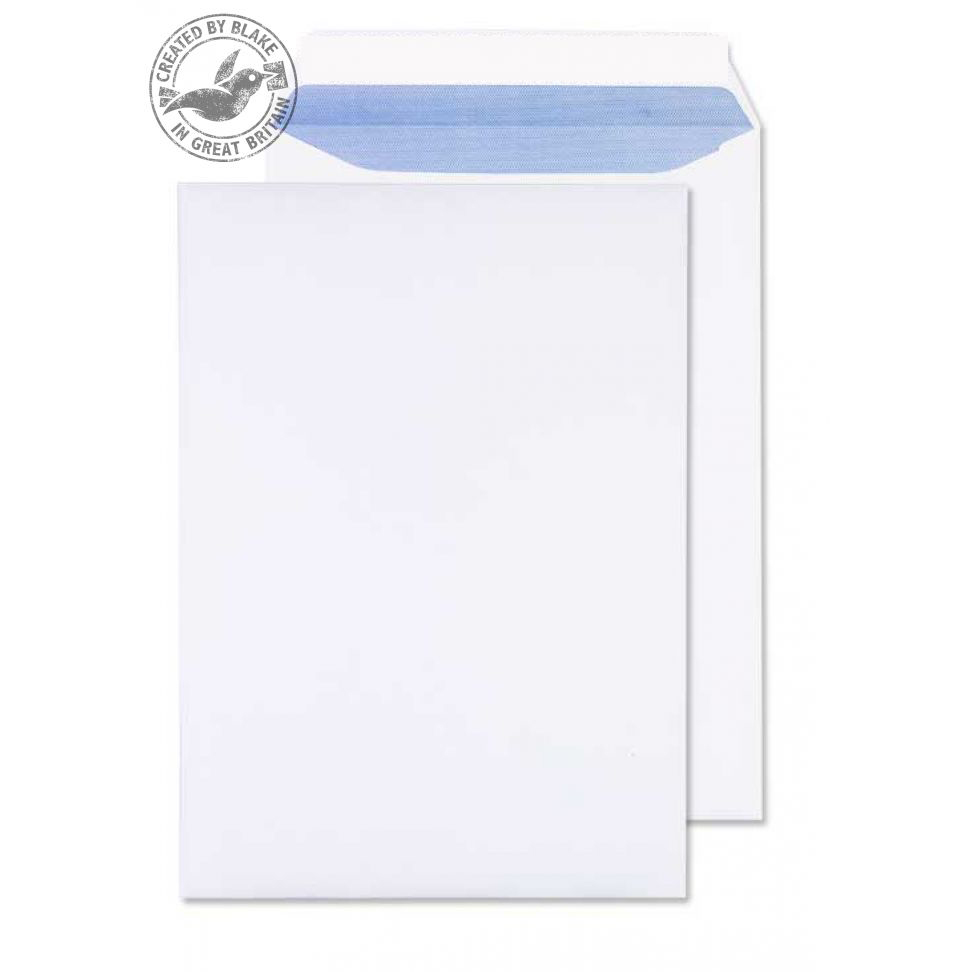 Purely Everyday Pocket P&S Ultra White 120gsm C4 324x229mm Ref 34891 [Pack 250] *10 Day Leadtime*