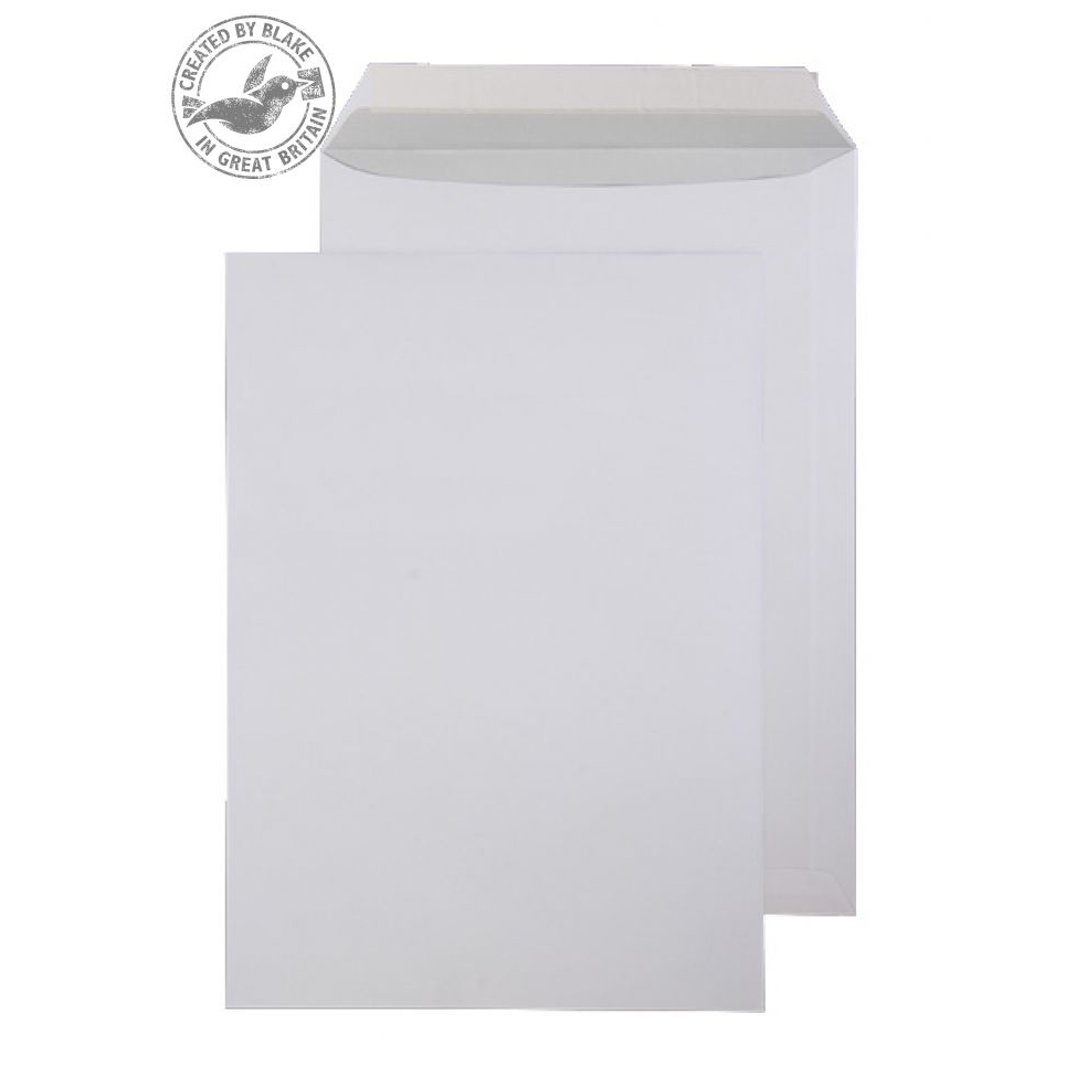 Purely Everyday Pocket P&S Bright White 120gsm C4 324x229mm Ref ENV30 [Pack 250] *10 Day Leadtime*