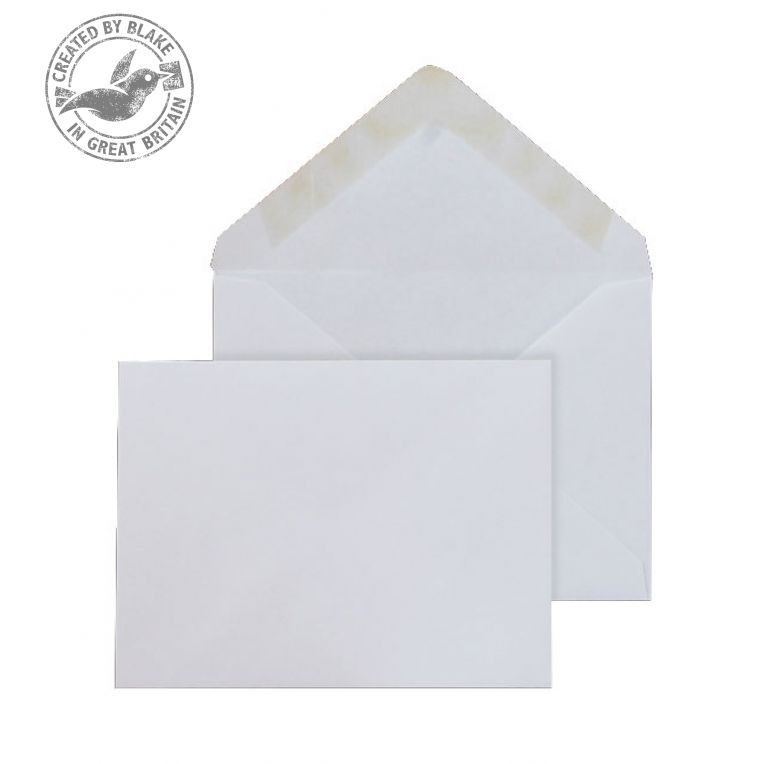 Blake Purely Everyday 108x159mm BankerInvite Gummed 90gsm White RefENV2174 Pack1000 *3to5 Day Leadtime*