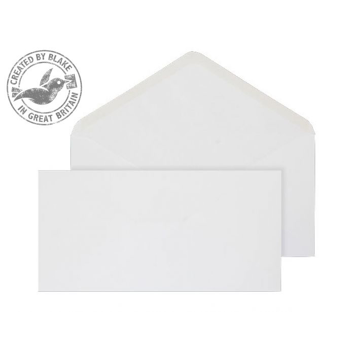 Blake Purely Everyday 106x206mm BankerInvite Gummed 90gsm White RefENV2172 Pack1000 *3to5 Day Leadtime*