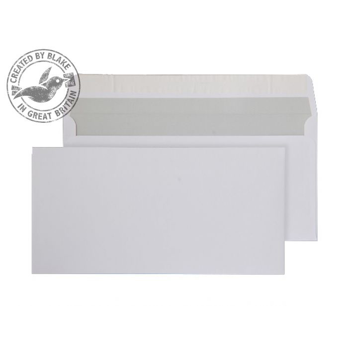 Purely Everyday Wallet P&S Bright White 120gsm DL 110x220mm Ref ENV10 [Pack 500] 10 Day Leadtime