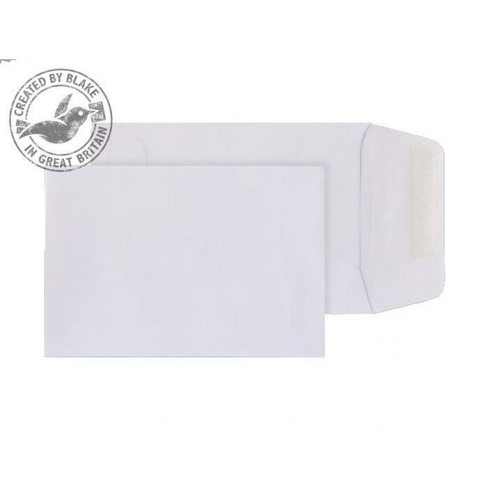Purely Everyday White Gummed Pocket 98x67mm Ref 117700 [Pack 1000] 10 Day Leadtime