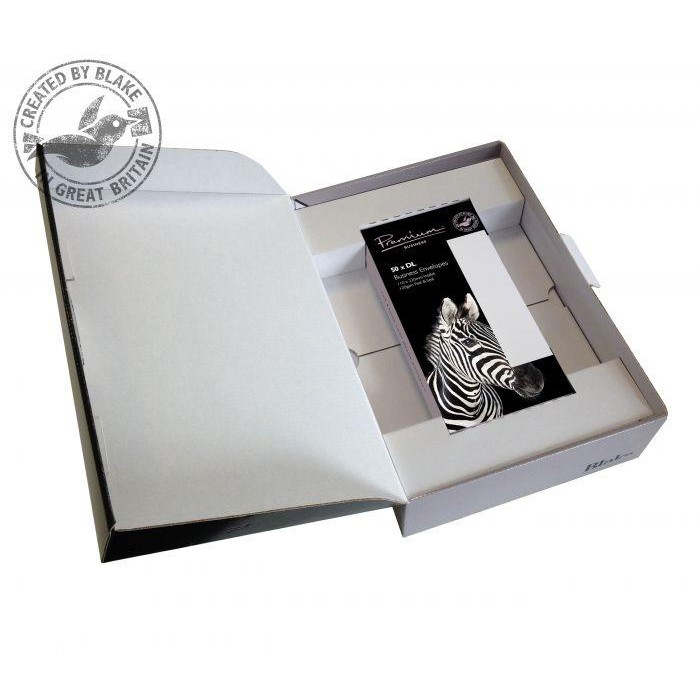 Blake Soho Oyster Wove A4 Paper & Wallet P&S DL envelopes 120gsm Pk250/50 71670 10 Day Leadtime