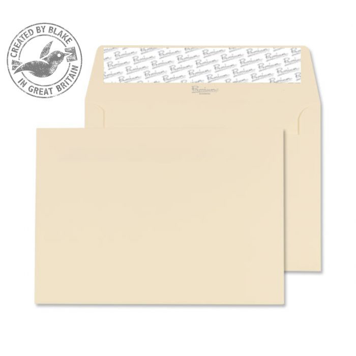 Blake Premium Business C6 Wallet Peel&Seal 120gsm Wove Cream Ref 64882PS Pack 500 *3to5 Day Leadtime*