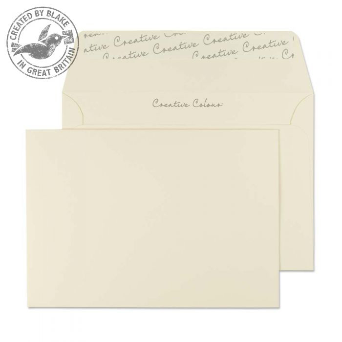Creative Colour Clotted Cream P&S Wallet C6 114x162mm Ref 153 [Pack 500] 10 Day Leadtime