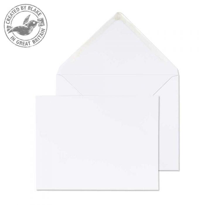 Purely Everyday Banker Invitation Gummed White 100gsm 184x235mm Ref 2009 Pk 500 *10 Day Leadtime*