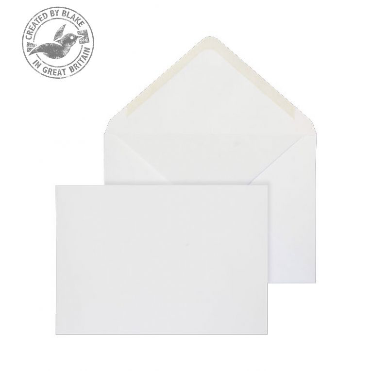 Purely Everyday Banker Invitation Gummed White 120gsm C5 162x229 Ref 3001 Pk 500 10 Day Leadtime