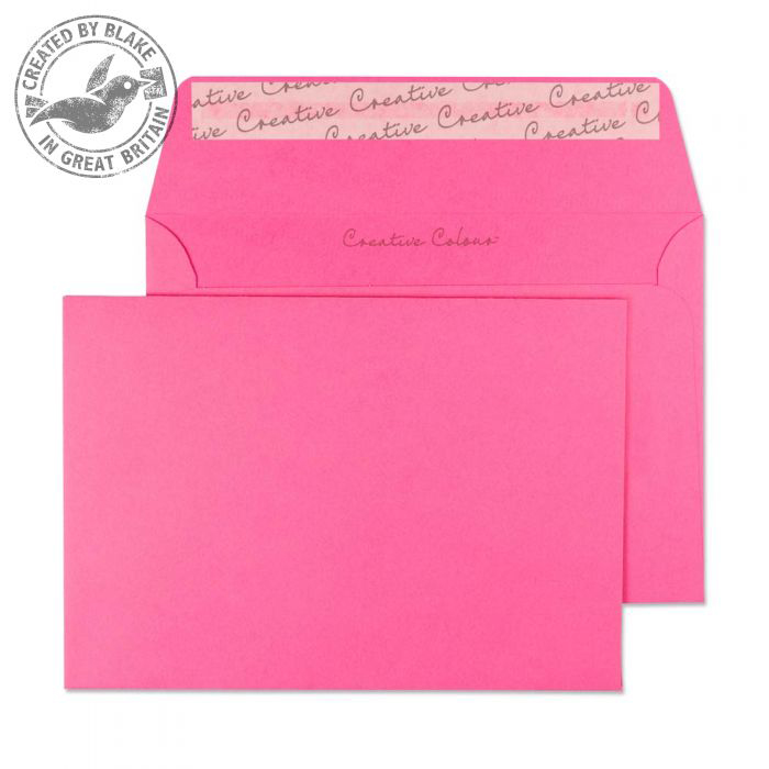 Creative Colour Flamingo Pink P&S Wallet C6 114x162mm Ref 102 Pack 500 *10 Day Leadtime*