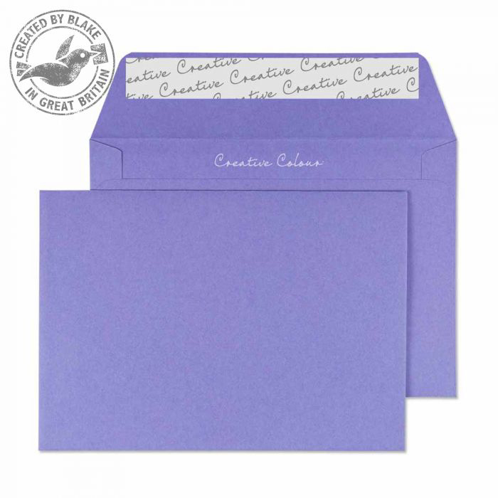 Creative Colour Summer Violet P&S Wallet C6 114x162mm Ref 111 [Pack 500] 10 Day Leadtime