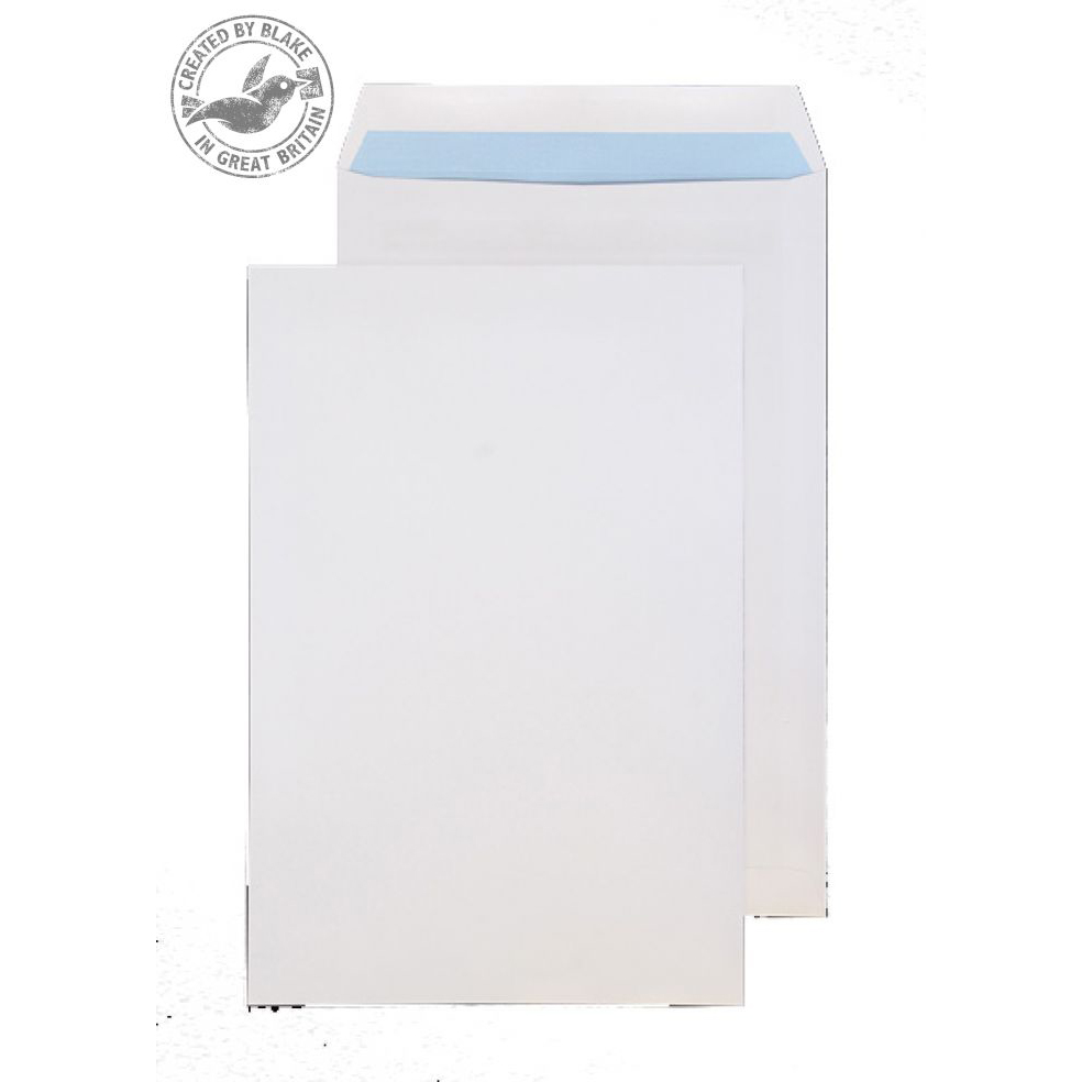 Purely Everyday Pocket Self Seal White 120gsm 381x254mm Ref 6086 [Pack 250] 10 Day Leadtime