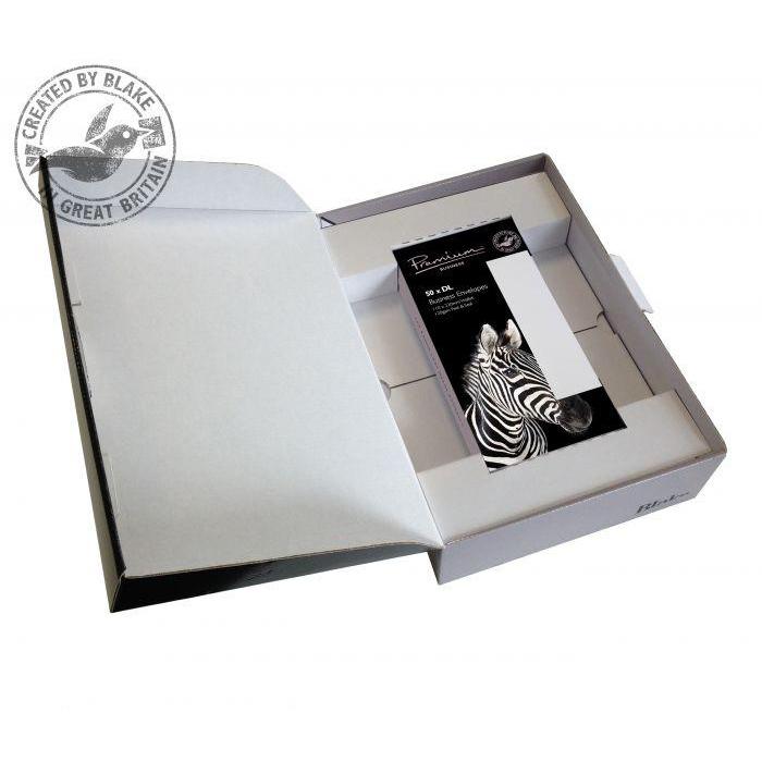 Blake Soho High White Laid A4 Paper & WalletP&S DL envelopes 120gsm Pk250/50 39670 10 Day Leadtime