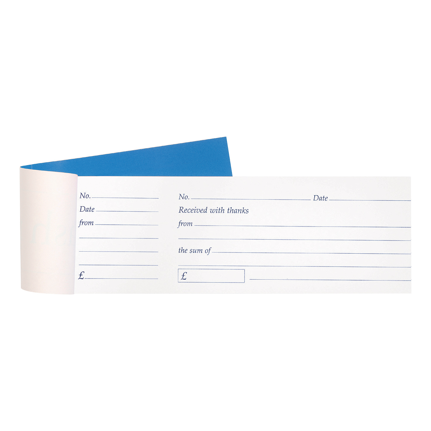 Image for Cash Receipt Book Tear Off 80 Receipts 79x202mm