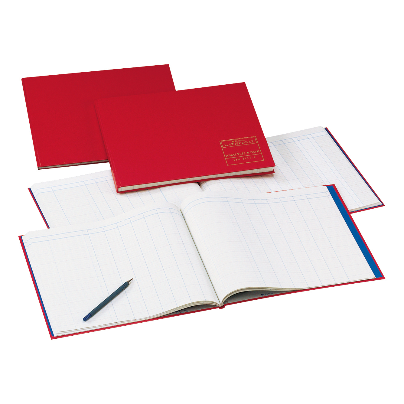 Accounts Binders & Refills Collins Cathedral Analysis Book 150 Series 9 Cash Column 96 Pages 297x315mm Ref 150/9.1