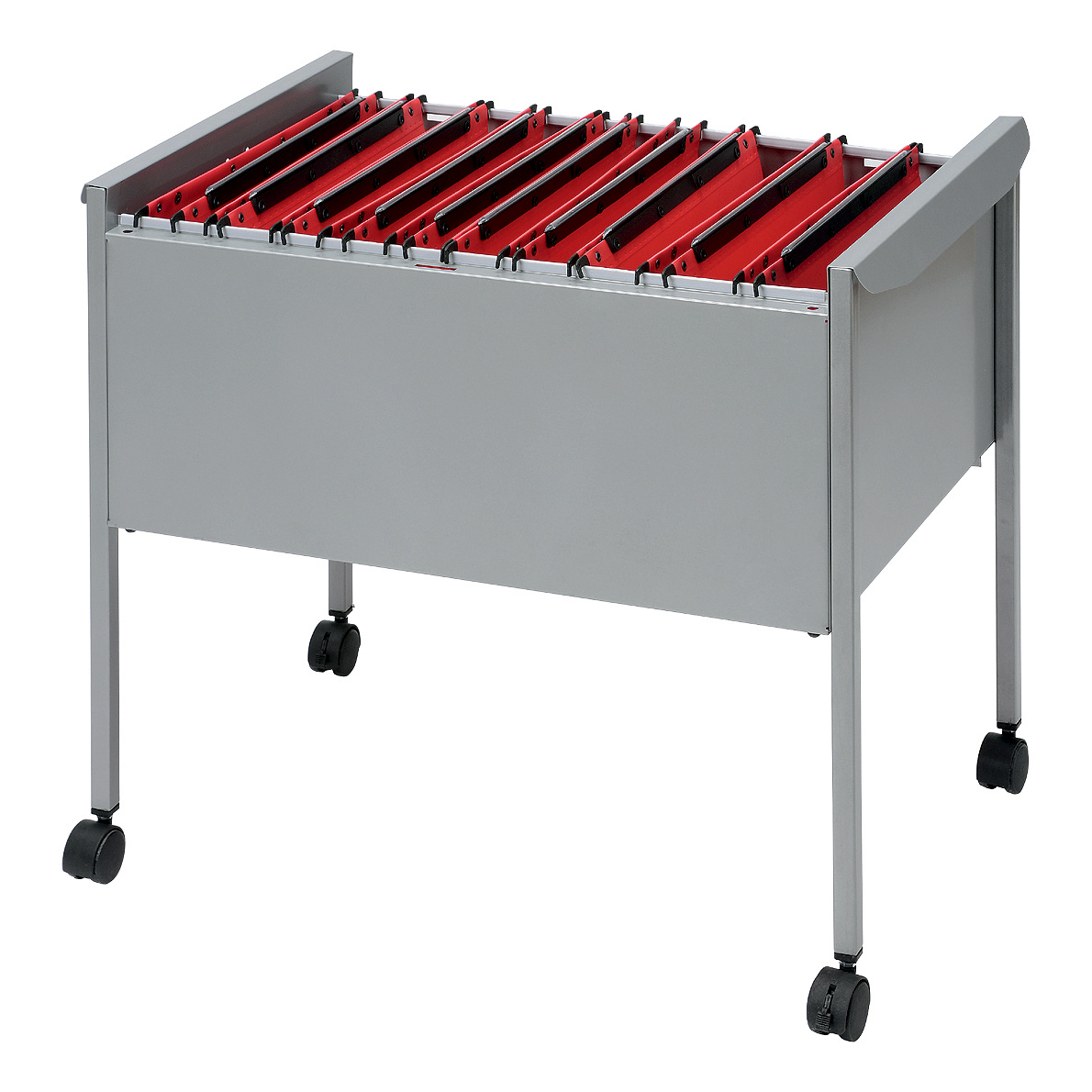 Trolleys or accessories Rexel Suspension Filing Trolley Capacity 100 Susp Files W660xD425xH590mm Grey Ref 50559