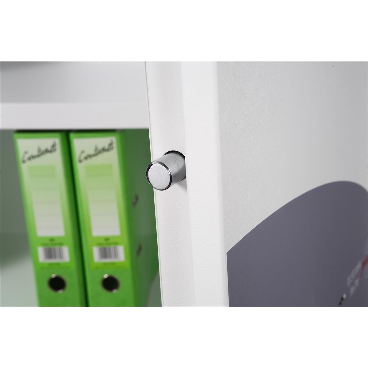 Phoenix Fire Ranger Steel Storage Cupboard Fire and Burglary Resistant W930xD520x1950mm Ref FS1513K