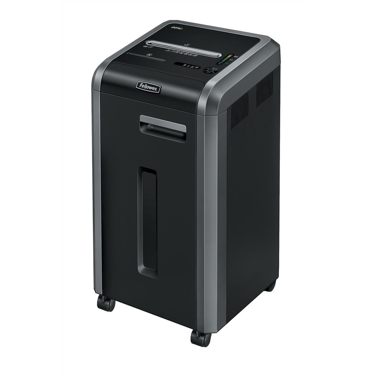 Fellowes Powershred 225Ci Shredder Cross Cut P-4 Ref 4622101