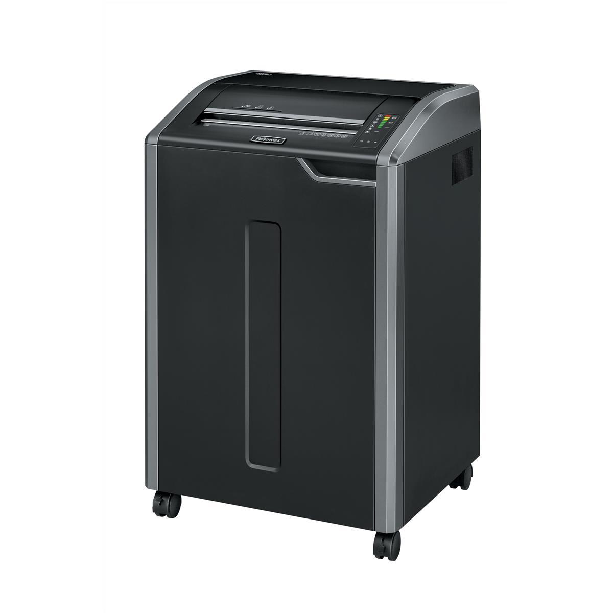 Shredders Fellowes Powershred 485Ci Large Shredder Cross Cut P-4 Ref 4699001
