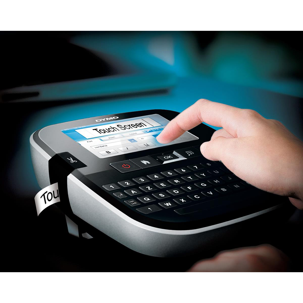 Dymo LabelManager 500TS Touch Screen Label Maker with PC or MAC Connection Ref S0946420