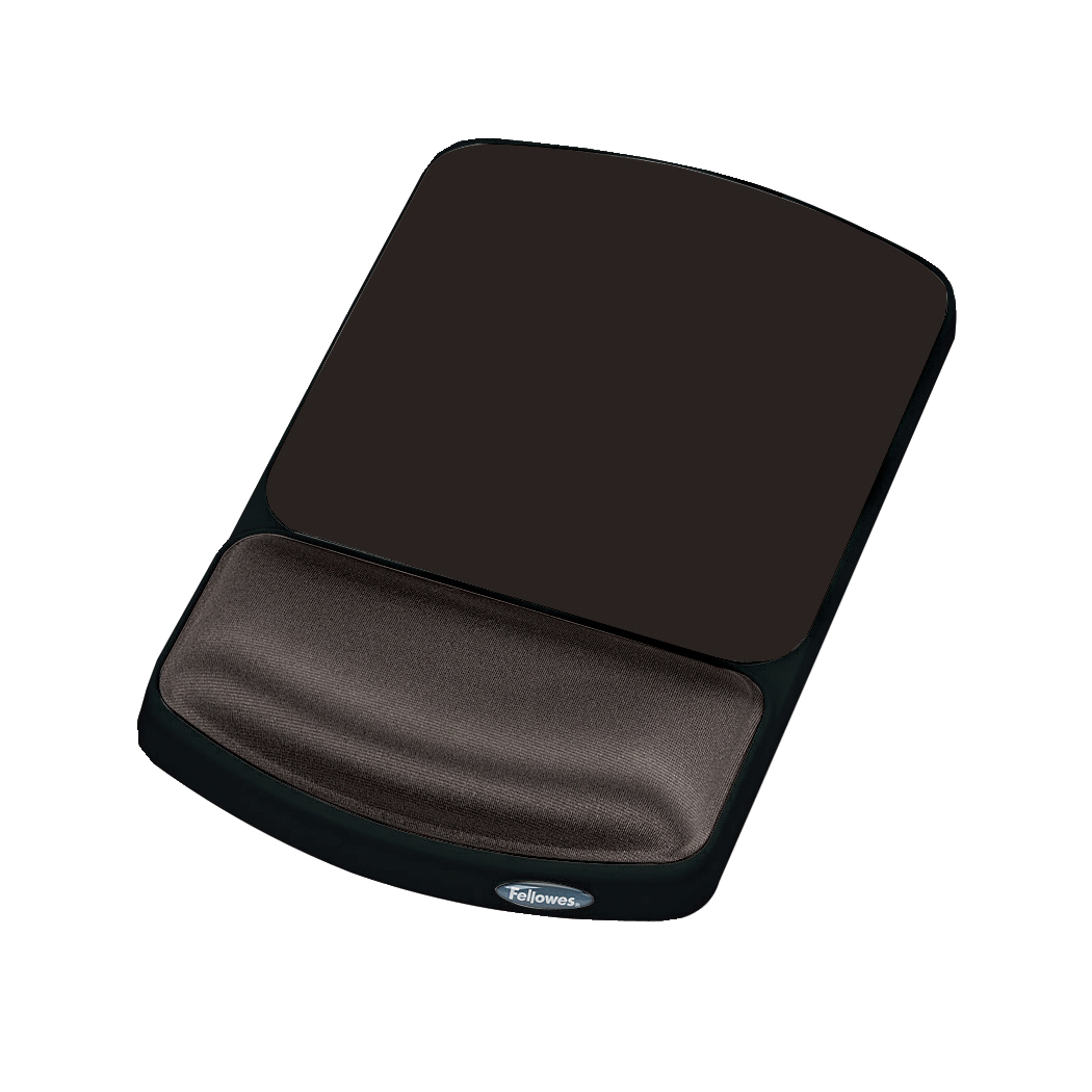 Wrist Rests Fellowes Height Adjustable Gel Mouse Pad Graphite Ref 9374001