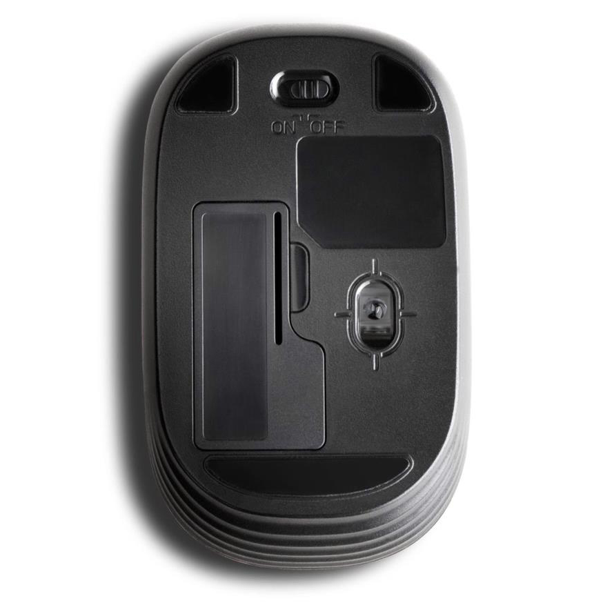 Kensington Pocket Mobile Mouse Wireless 2.4GHz USB Receiver 1000dpi Both Handed Black Ref K72452WW