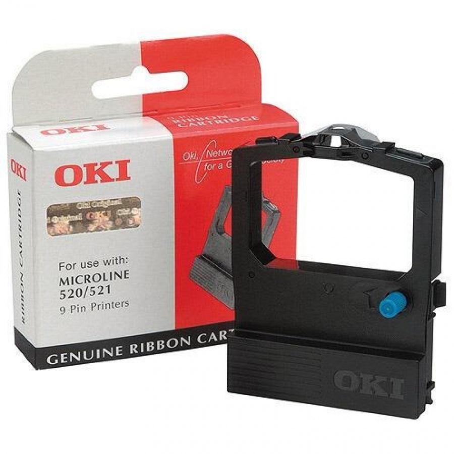 OKI Ribbon Cassette Fabric Nylon Black for 520 Ref 09002315