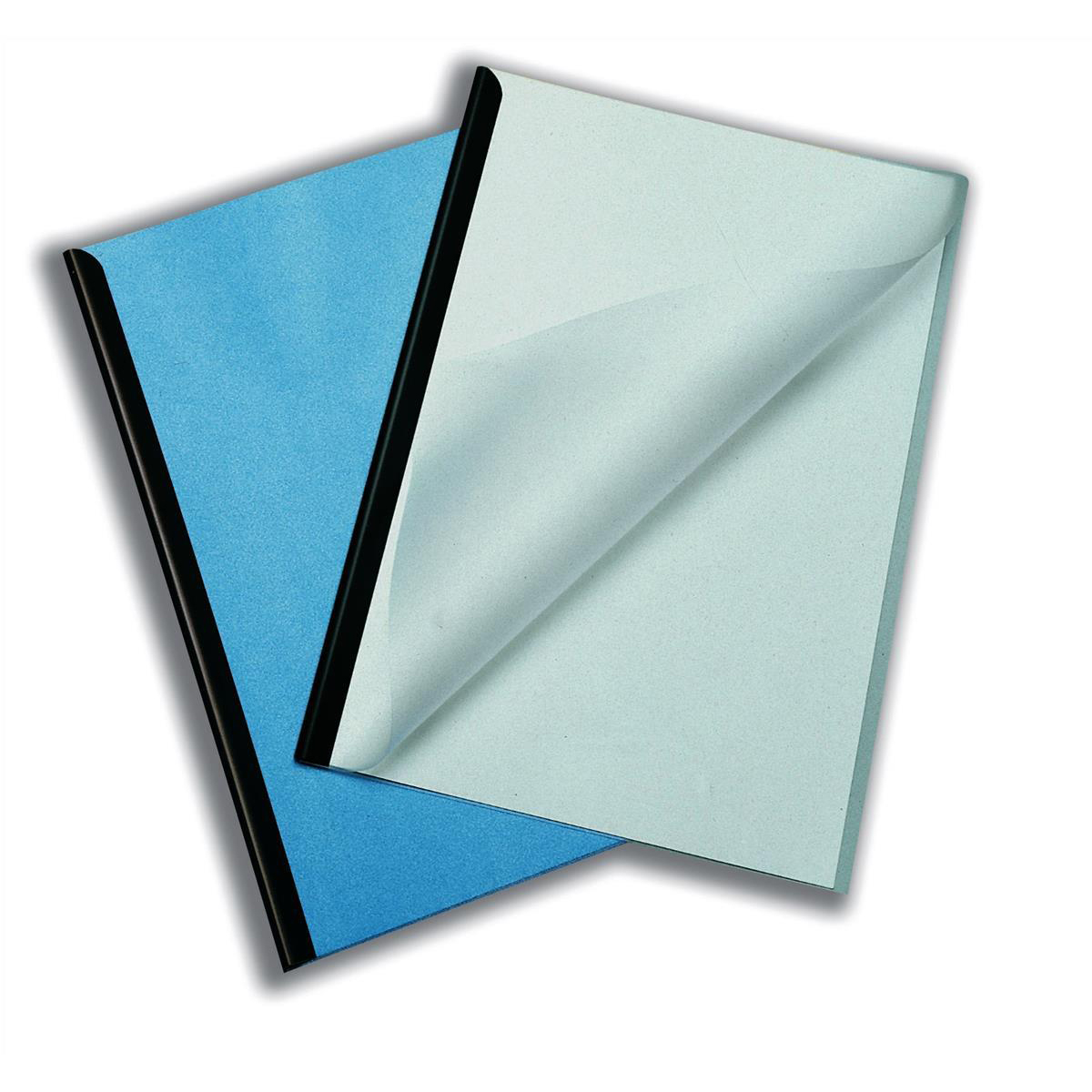 Durable Report Covers PVC Capacity 100 Sheets A3 Folds to A4 Clear Pack 50