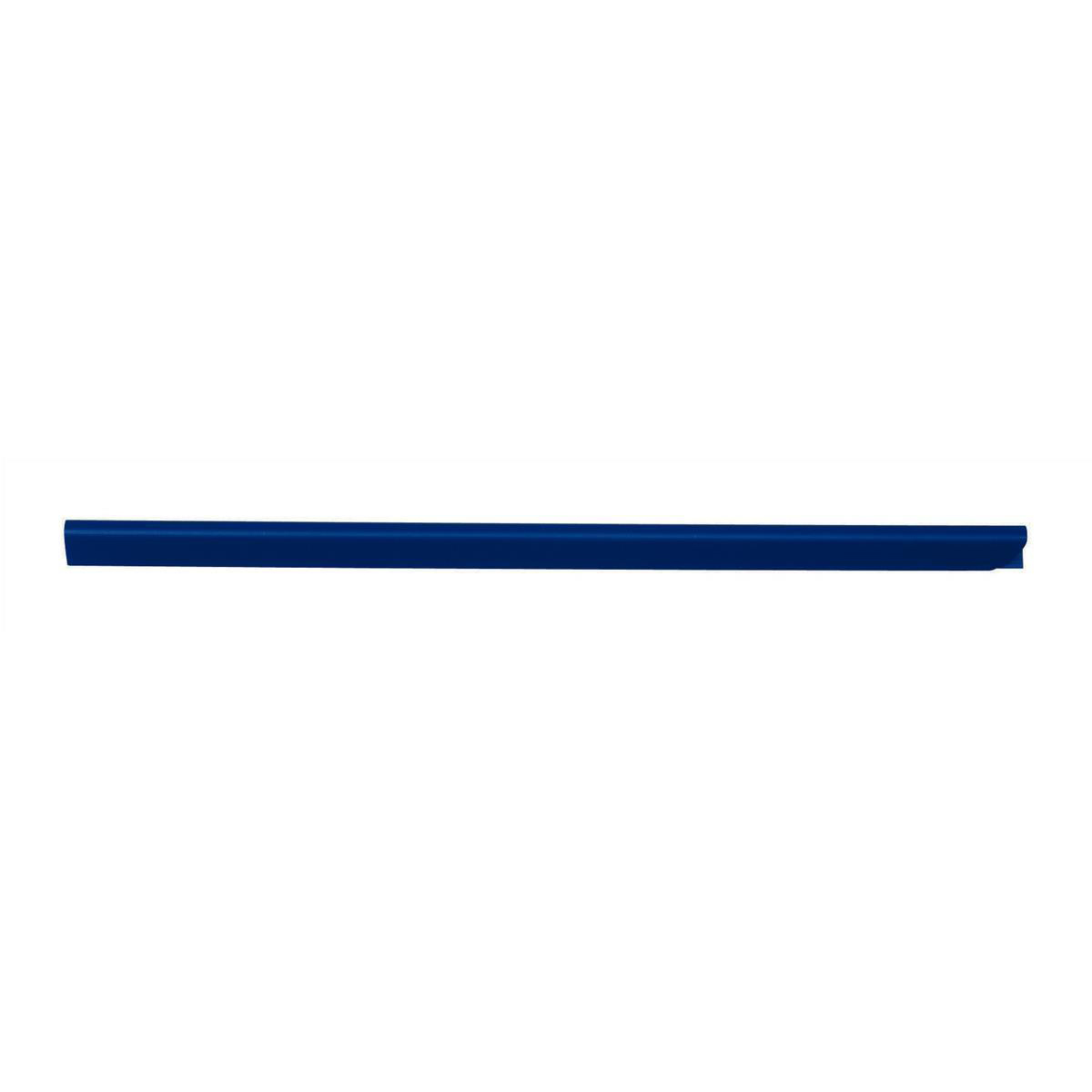 Spine Bars for 60 Sheets A4 Capacity 6mm Blue Pack 50