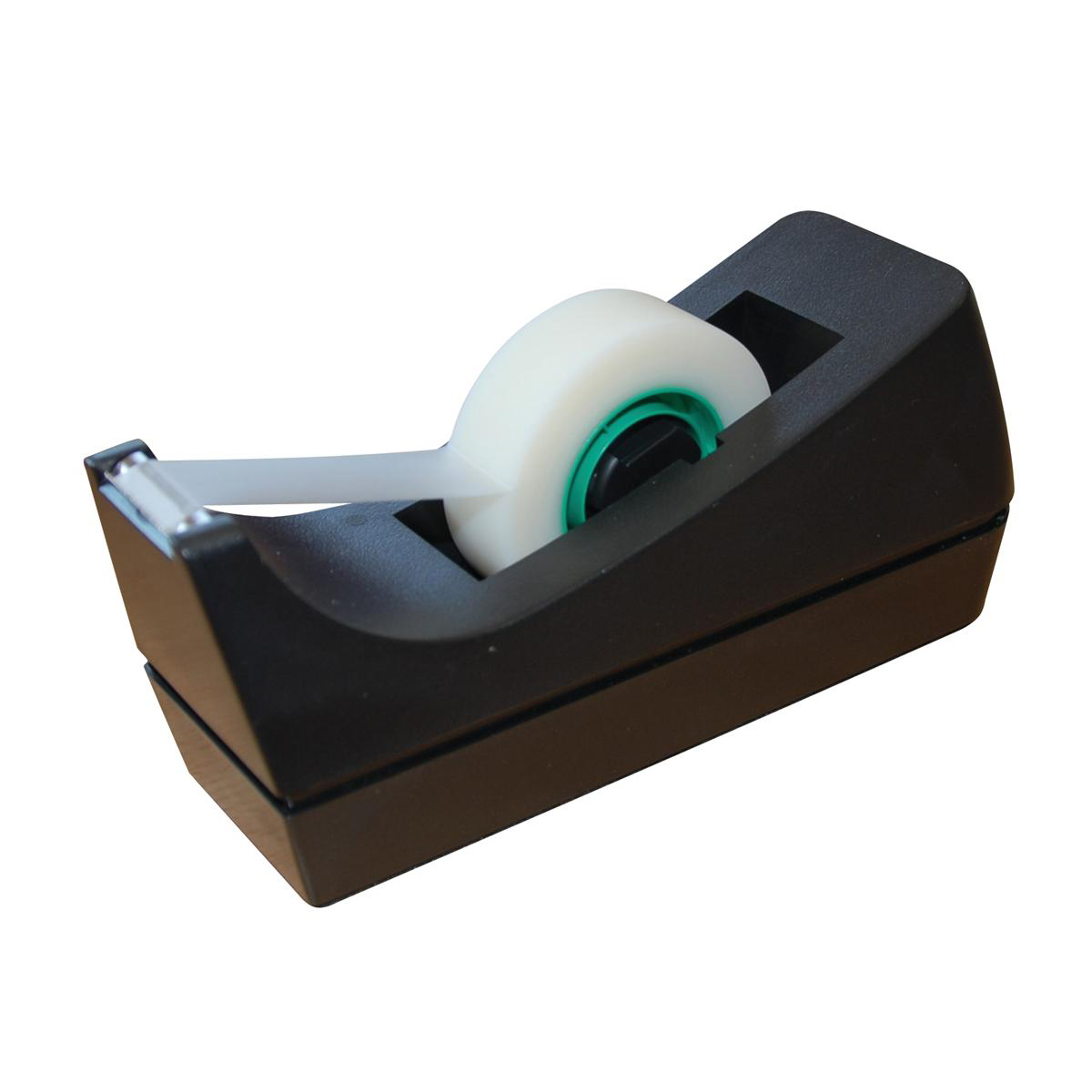 Tape Dispensers 5 Star Office Tape Dispenser Desktop Roll Capacity 25mm Width 33m Length Black