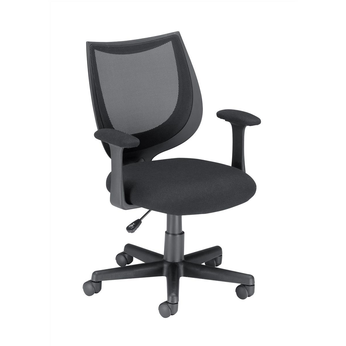 Trexus Gleam SoHo Mesh Operators Chair Black 470x480x410-510mm Ref 11027-03