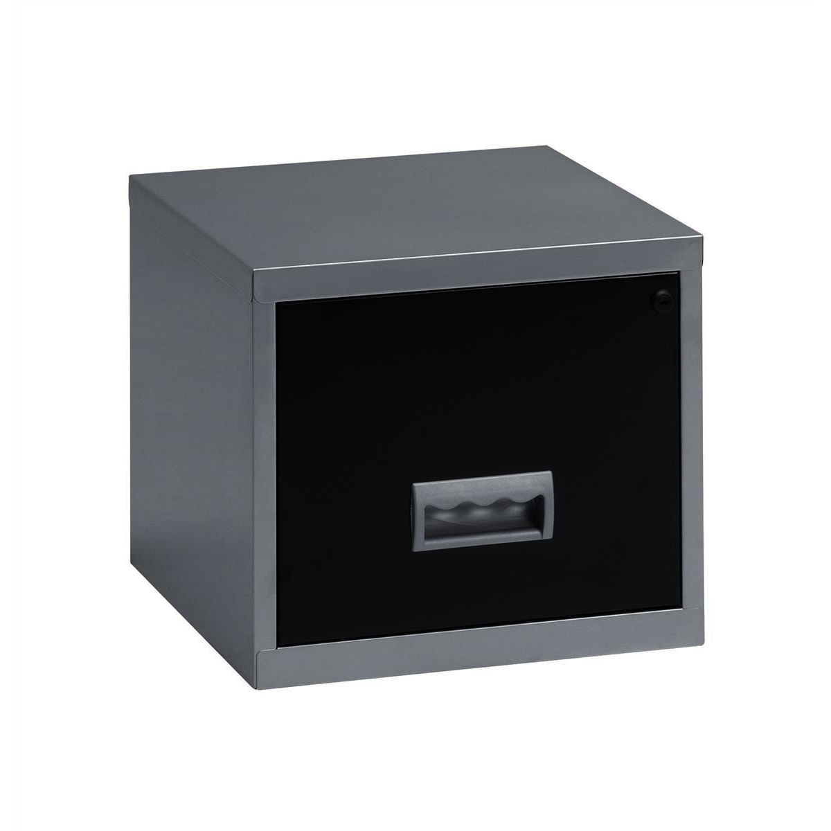 Image for Filing Cabinet Steel 1 Drawer A4 400x400x370mm Ref 99071
