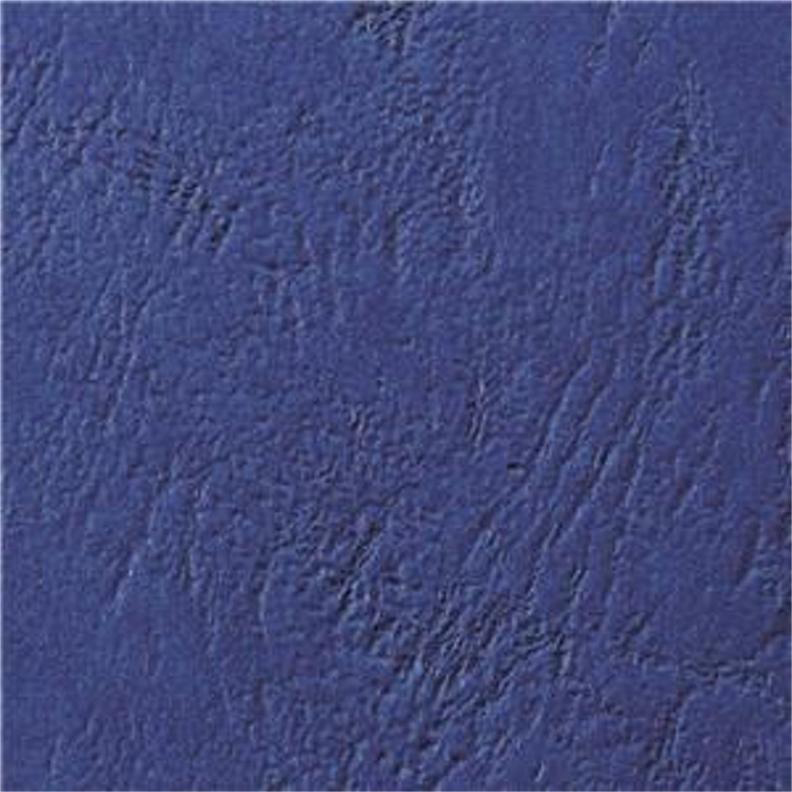 Cover Boards GBC Antelope Binding Covers Leather-look Plain A4 Royal Blue Ref CY040029U Pack 100
