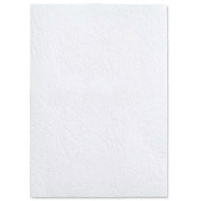 Cover Boards GBC Antelope Binding Covers Leather-look Plain A4 White Ref CE040070 [Pack 100]