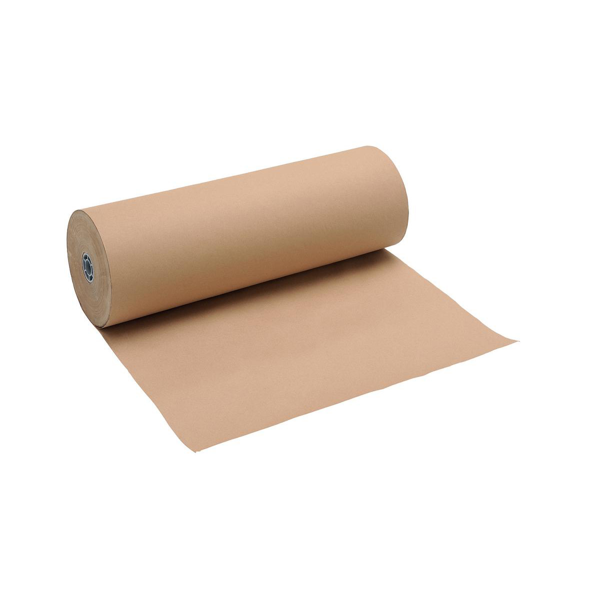 Gift paper, bags or boxes Counter Wrapping Paper Roll Kraft 90gsm 600mmx225m