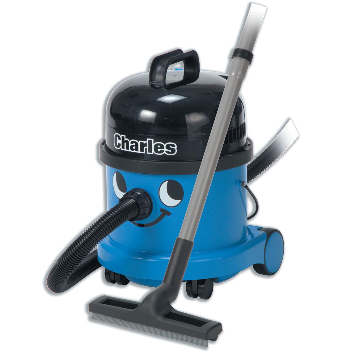 Vacuum Cleaners & Accessories Numatic Charles Vacuum Cleaner Wet & Dry 1060W 15L Dry 9L Wet 9Kg W360xD370xH510mm Blue Ref 824615