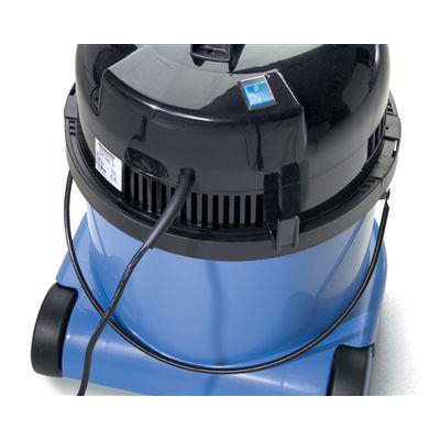 Numatic Charles Vacuum Cleaner Wet & Dry 1060W 15L Dry 9L Wet 9Kg W360xD370xH510mm Blue Ref 824615