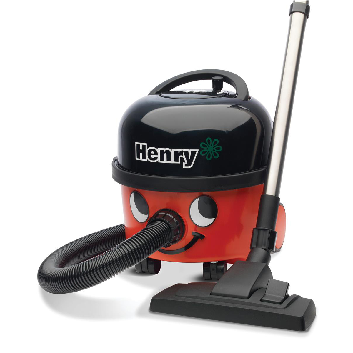 Vacuum Cleaners & Accessories Numatic Henry Vacuum Cleaner 620W 6 Litre 7.5kg W315xD340xH345mm Red Ref 902395