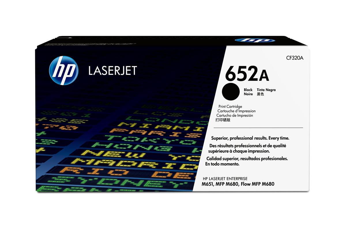 Hewlett Packard [HP] 652A Laser Toner Cartridge Page Life 11500 Black Ref CF320A