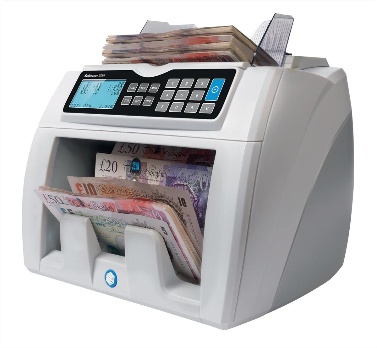 Image for Safescan 2680 GBP Banknote Counter and Counterfeit Detector Ref 112-0510