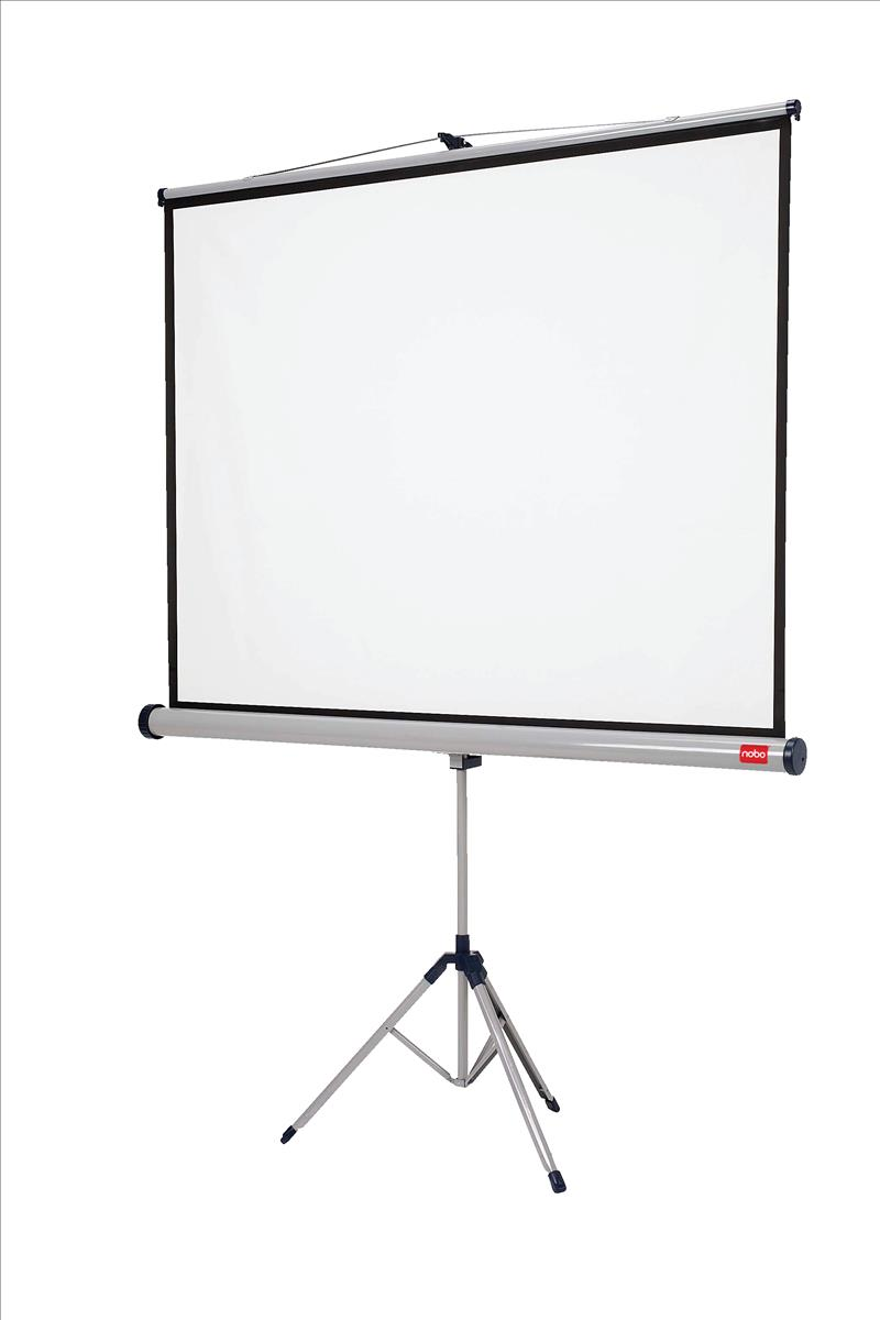 Image for Nobo Tripod Widescreen Projection Screen W1750xH1150 Ref 1902396W